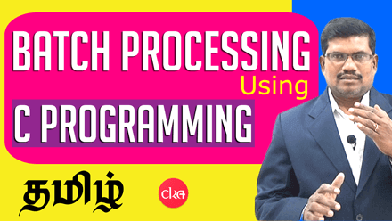 Command Window & Batch Processing