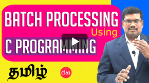 Batch Processing & C Programming