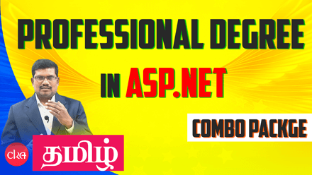 Professional Degree in ASP.NET